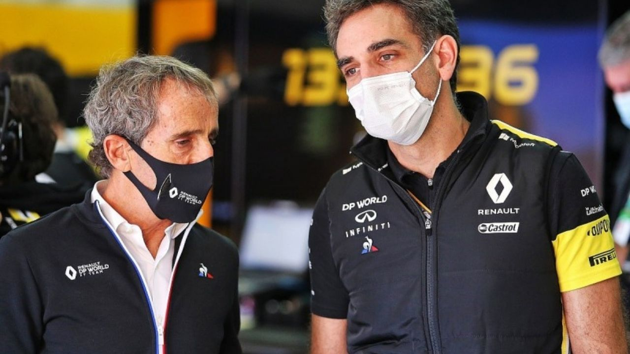Alpine F1 Team Principal: Who has replaced Cyril Abiteboul as team boss of the Renault F1 team?