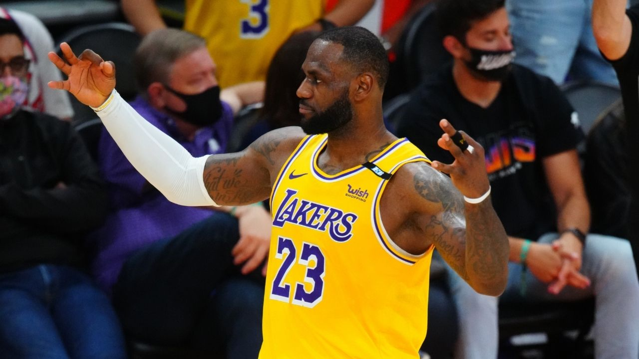 """""""Anthony Davis and LeBron James are still the best duo in the NBA, Luka Doncic is a bad mf"""": NBA analyst applauds Lakers duo after Game 2 win vs Suns"""