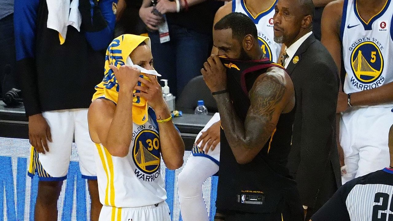 """""""Not worried about LeBron James recruiting Stephen Curry"""": Warriors' owner Joe Lacob does not think that the Lakers' star can lure the Baby Faced Assassin"""