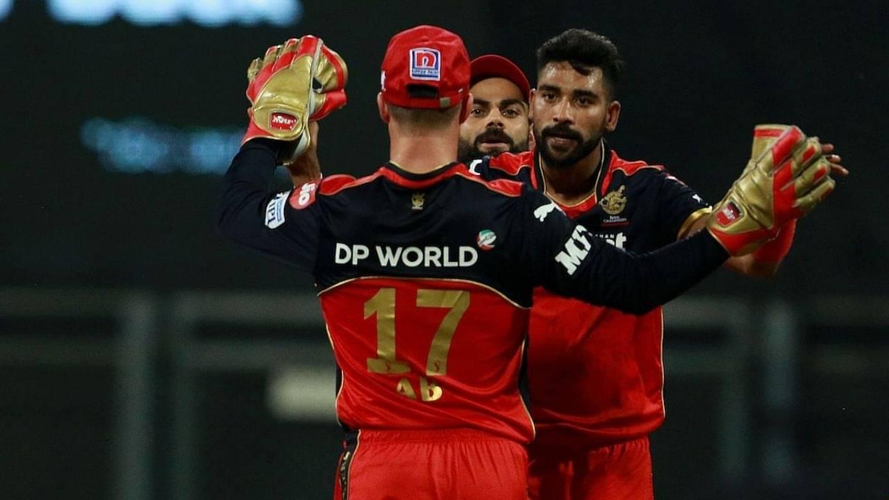 """Tere paas ability hai"": Mohammed Siraj reveals pep talk by Virat Kohli after CSK vs RCB IPL 2021 match"