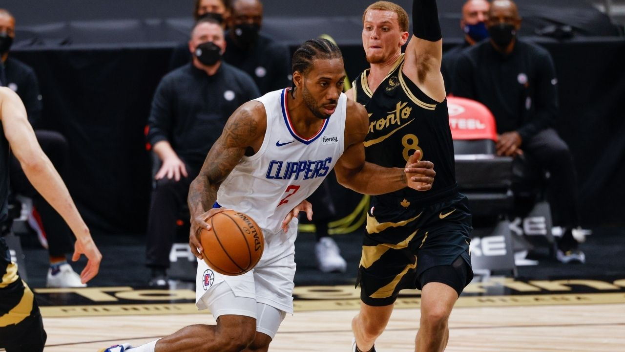 """""""Kawhi Leonard could be looking to Miami"""": Stephen A Smith speculates baselessly that the Clippers star is headed to team up with Jimmy Butler and co"""