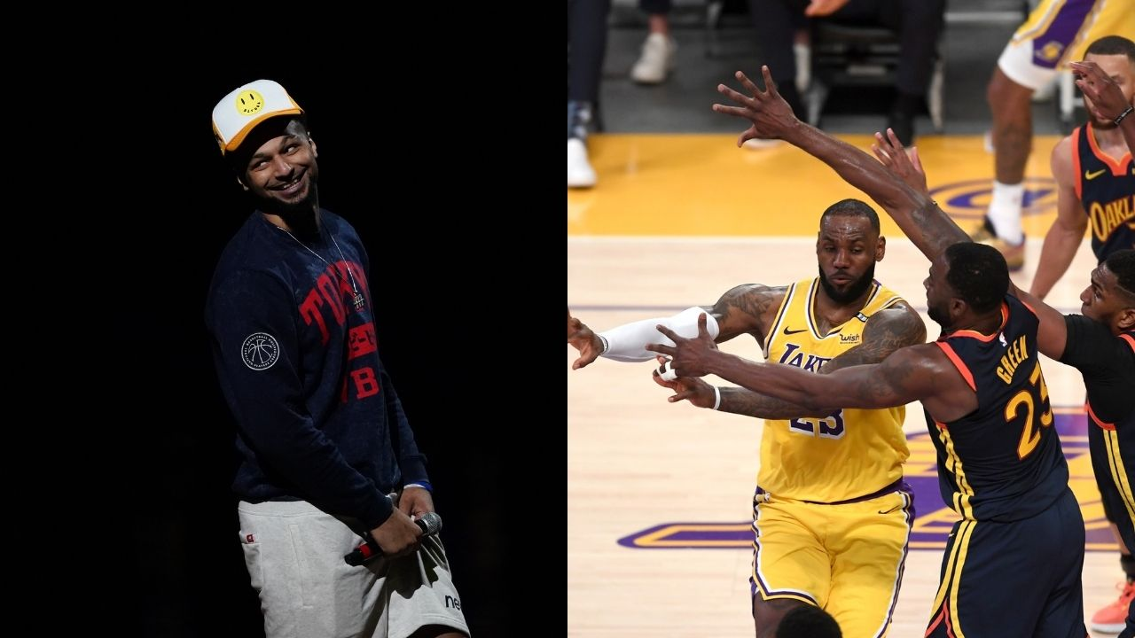 """""""No LeBron James for 10 days!"""": Jamal Murray mistakenly believes that the Lakers MVP will miss time after violating health and safety protocols with Drake ahead of Lakers vs Suns"""