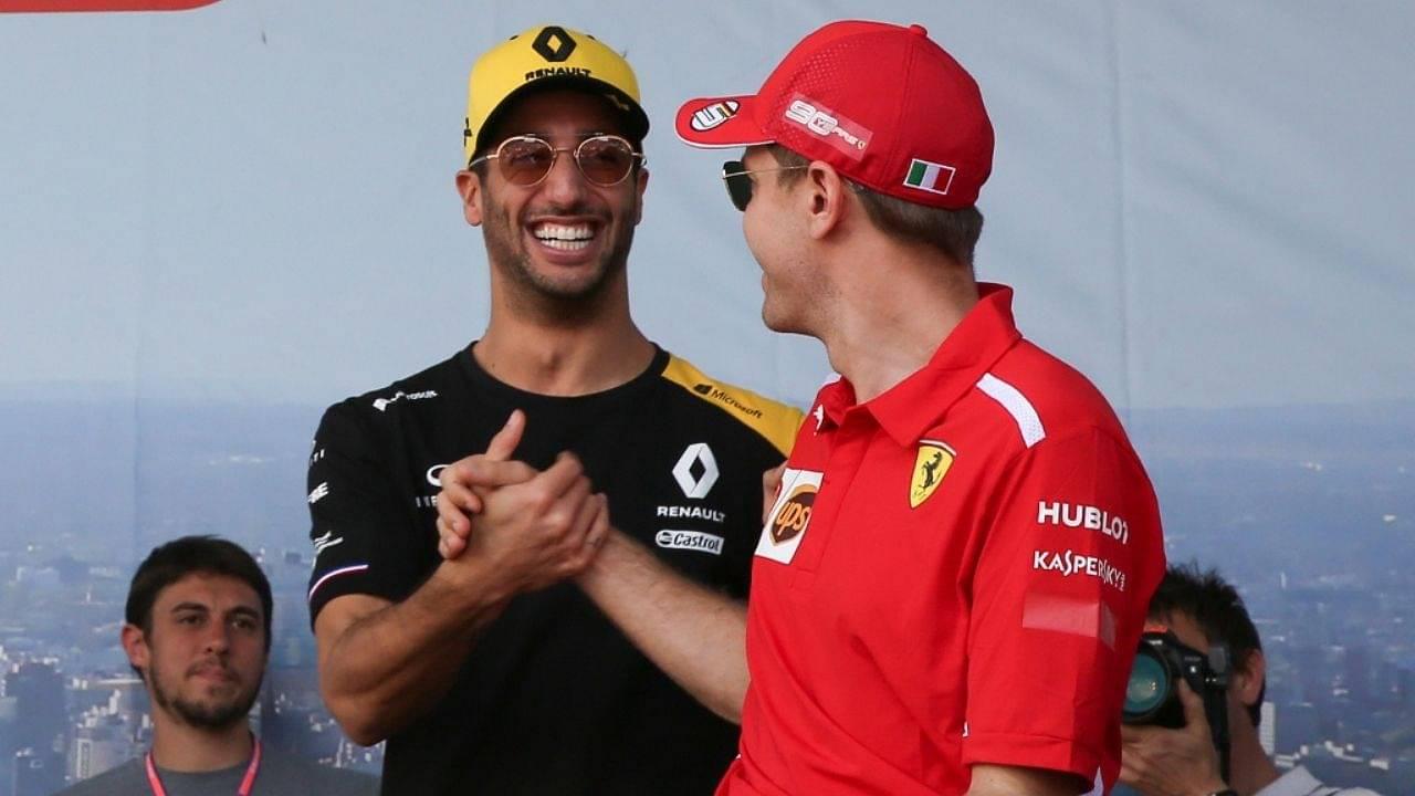 """""""There was a bit of phone calls""""– Daniel Ricciardo reveals his failed negotiations with Ferrari"""
