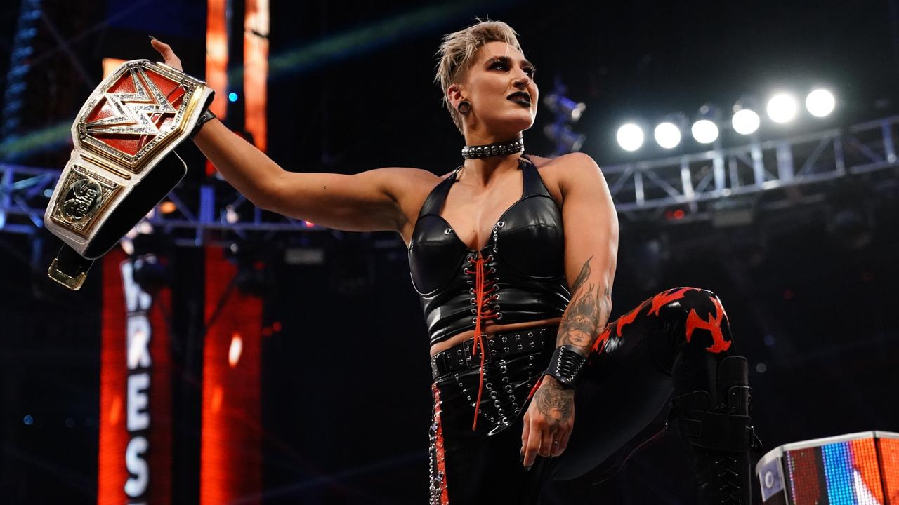 WWE RAW Women's Championship match officially changed into a Triple threat at WrestleMania Backlash
