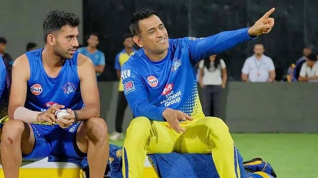 CSK latest news: Deepak Chahar picks MS Dhoni's best quality as a captain