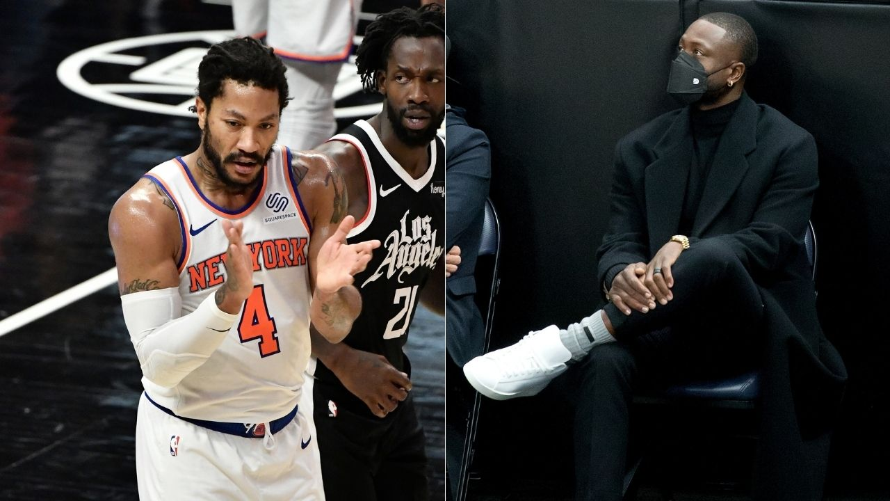 """""""If you don't like Derrick Rose, something is wrong with you"""": Former Heat legend Dwyane Wade speaks about the 2011 MVP's impact on the Knicks' recent success"""