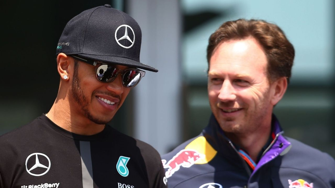 """""""There's nothing more exciting than racing Lewis Hamilton""""– Christian Horner enjoying battle against Mercedes"""