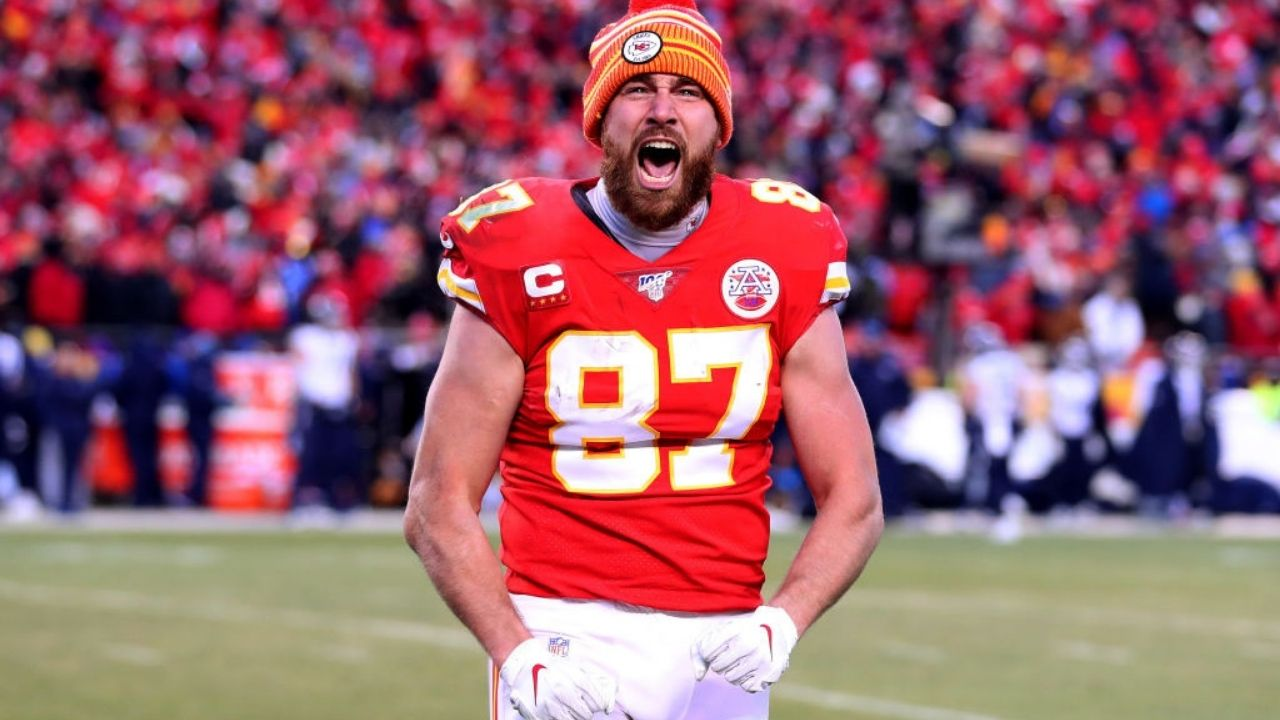 """""""Walking in that huddle it's a little bit different this year."""": Travis Kelce pumped with improved Kansas City Chiefs roster ahead of the 2021 season."""