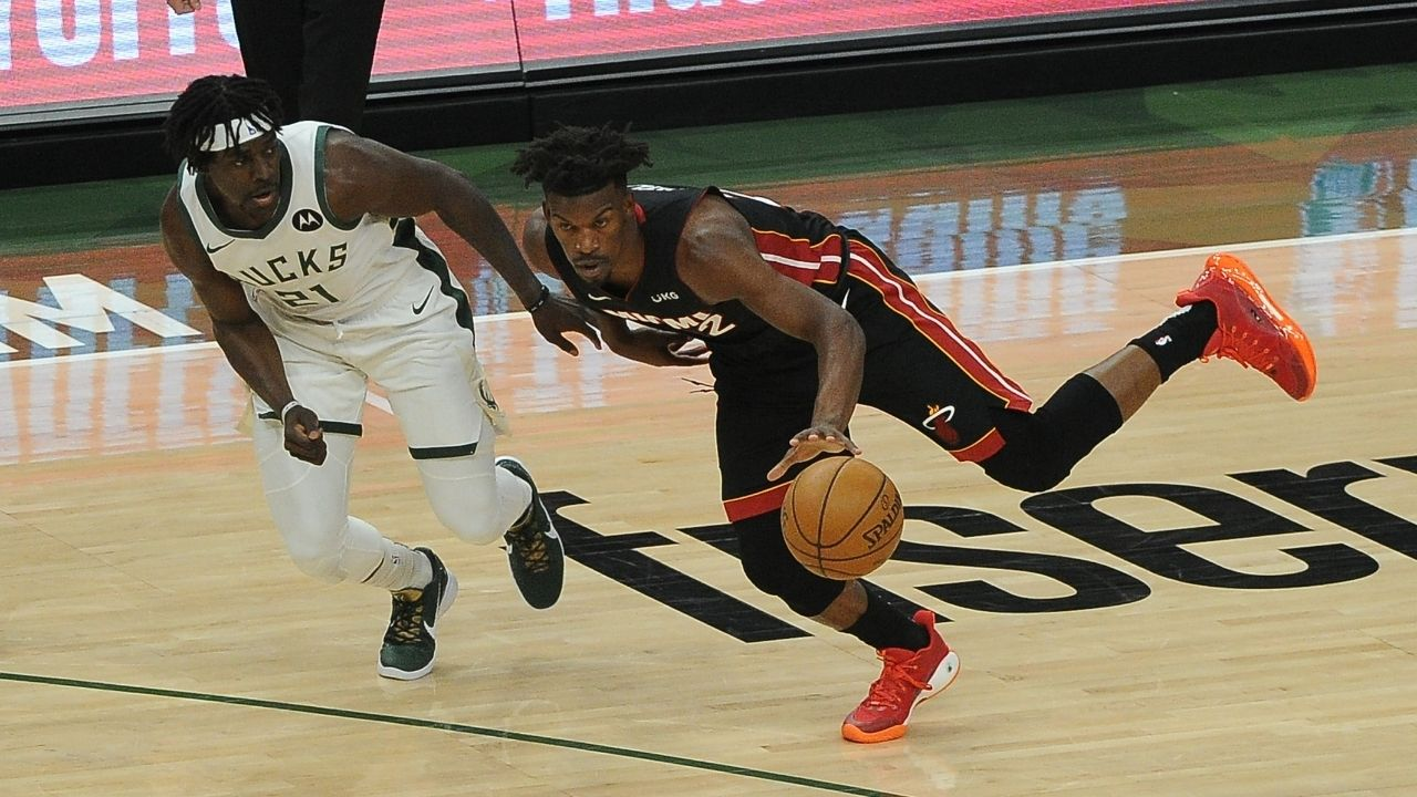 """""""Jimmy Butler ENOUGH is ENOUGH!"""": Stephen A Smith talks about how the Heat star has to show up and lead his team against the Milwaukee Bucks"""