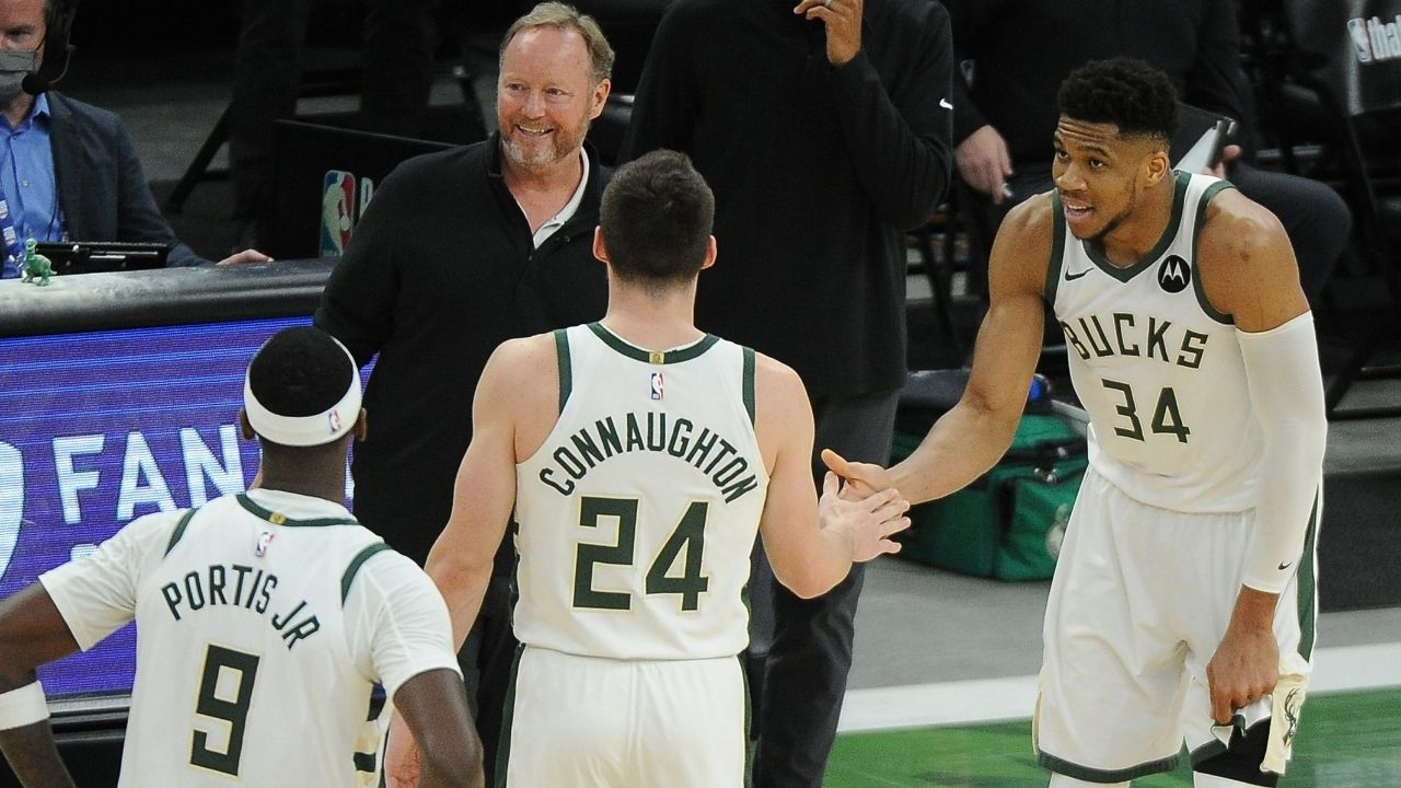 """""""Giannis wanted to be a soccer player growing up"""": Bucks MVP displays his impressive soccer skills amidst blowout Game 2 win over Jimmy Butler and the Heat"""
