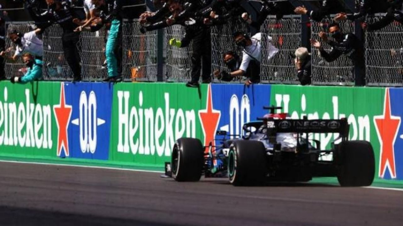 """""""That was such a tough race""""– Lewis Hamilton analyses his victory in Portimao"""