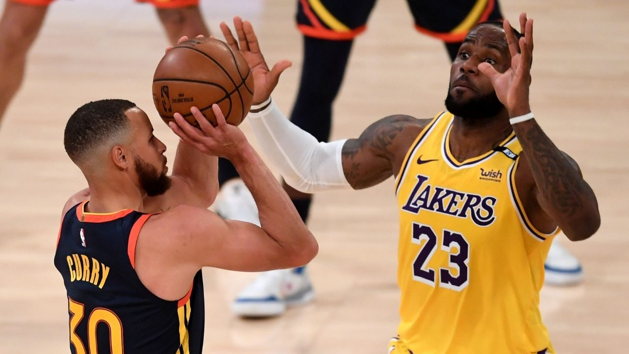 'Stephen Curry wasn't buying Lebron James' 3 rim story': Lakers star was ridiculed by Steph for his triple vision theory