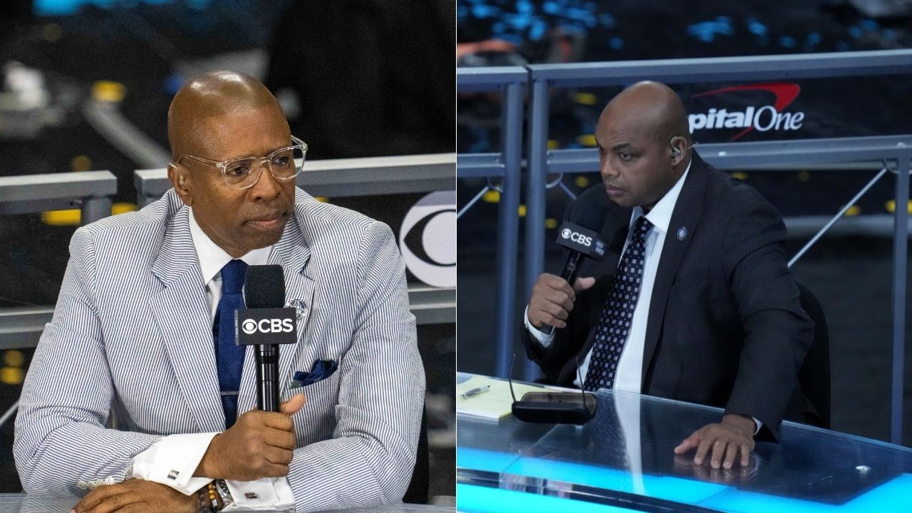 """""""Hakeem Olajuwon used to say all the time"""": NBA legend Charles Barkley ends Kenny Smith's career by calling him a waterboy on Inside the NBA"""
