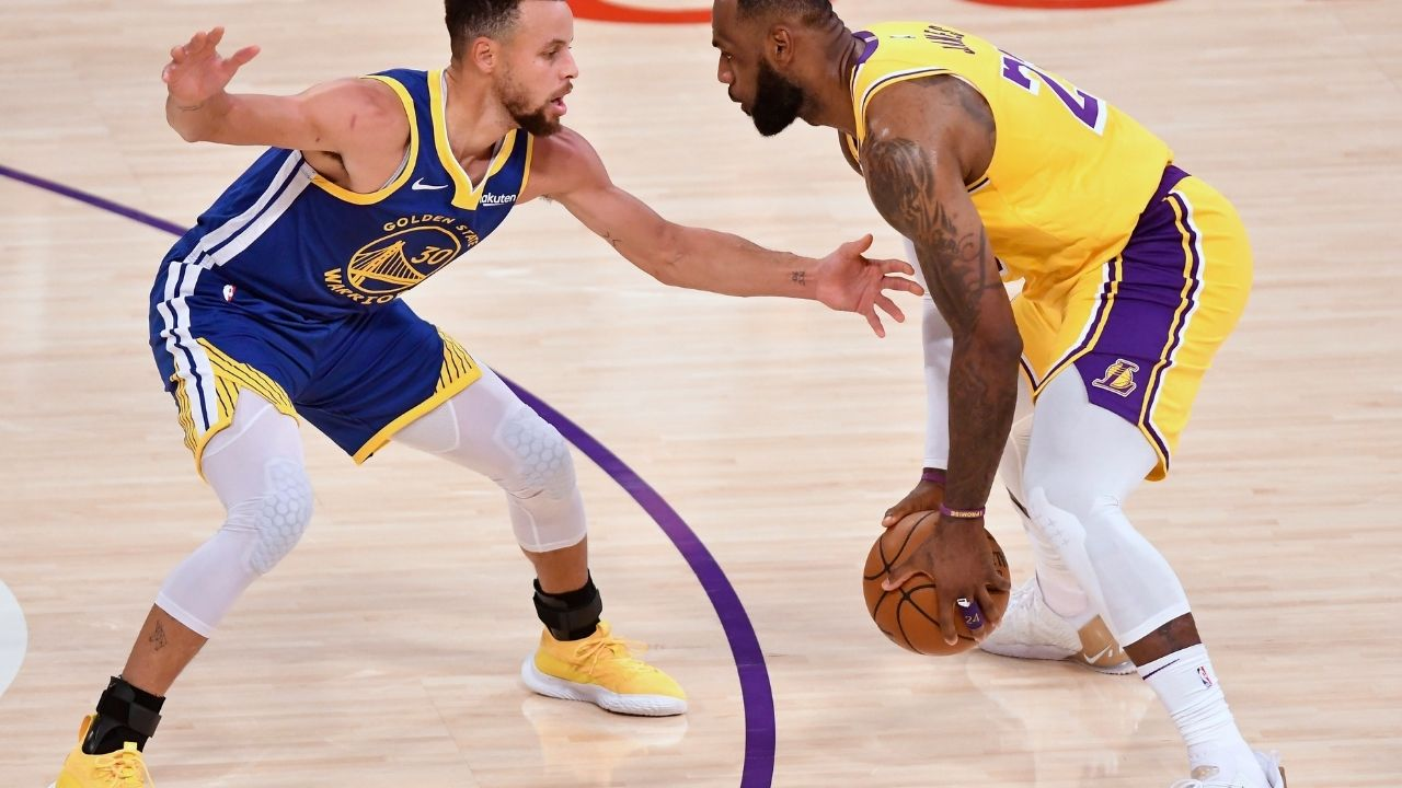 """""""Steph Curry is emulating LeBron James"""": Nick Young claims the Warriors MVP is doing what the Lakers superstar did early in his career with the Cavaliers"""