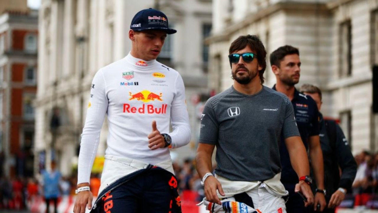 """""""Max Verstappen is the best driver at the moment""""- Fernando Alonso"""