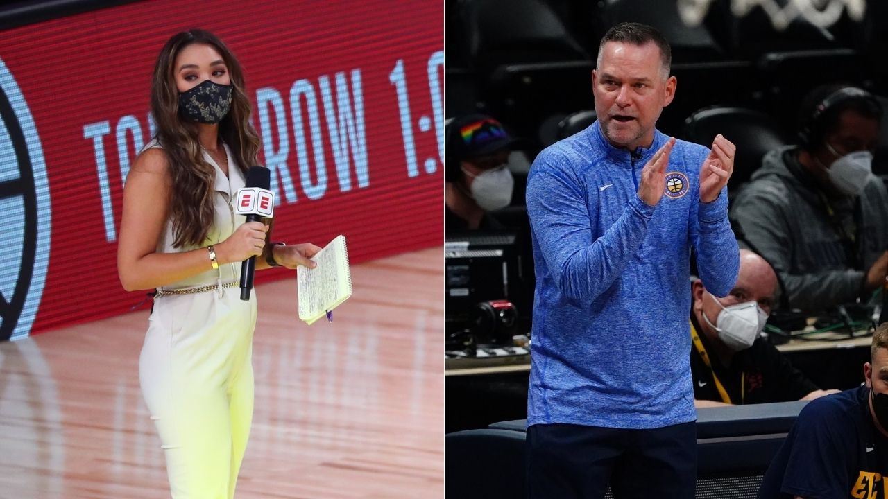 """""""Its Michael, not Mike Malone for you"""": Cassidy Hubbarth flustered as Nuggets head coach brusquely tells off NBA reporter for addressing him as Mike during loss vs Blazers"""