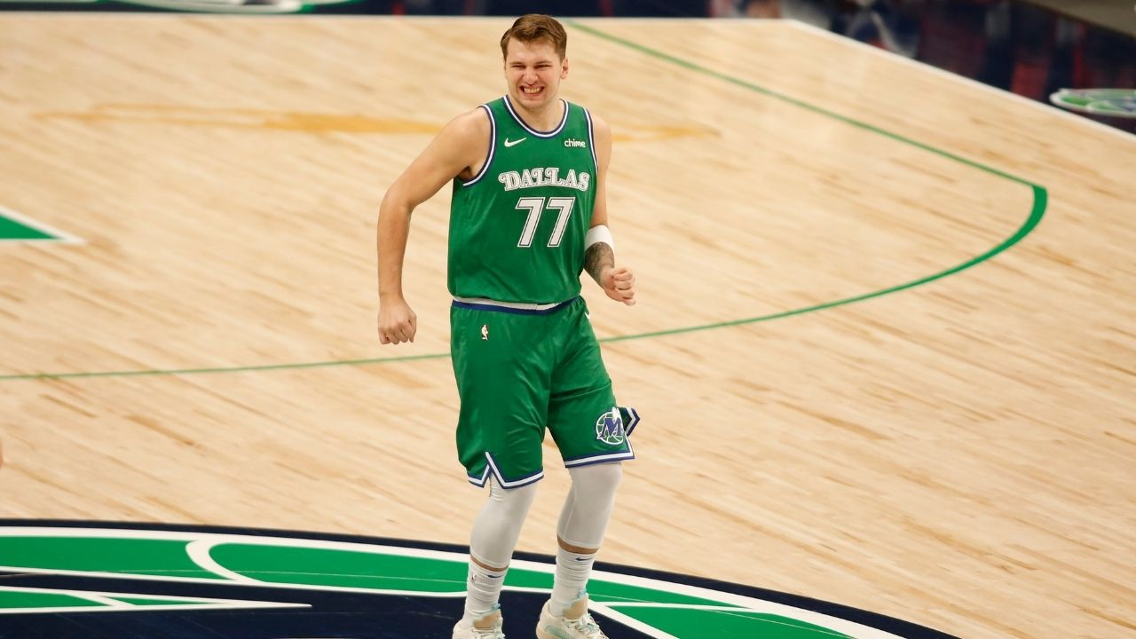"""""""Luka Doncic is the only player ever with 20+ assists and 1 turnover"""": Mavs star joins Russell Westbrook and Magic Johnson among 4 players to have a 30-10-20 game"""