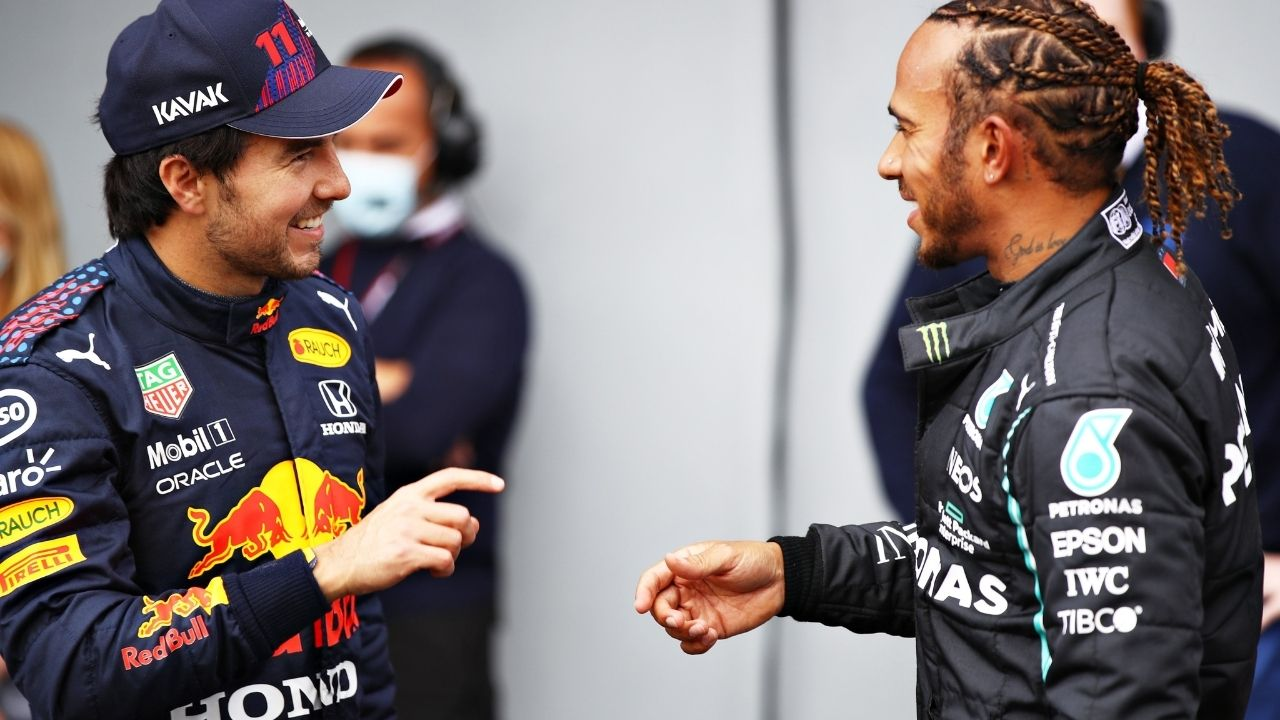 """""""Bottas is more likely to take points from Verstappen"""" - Martin Brundle urges Sergio Perez to battle Mercedes"""