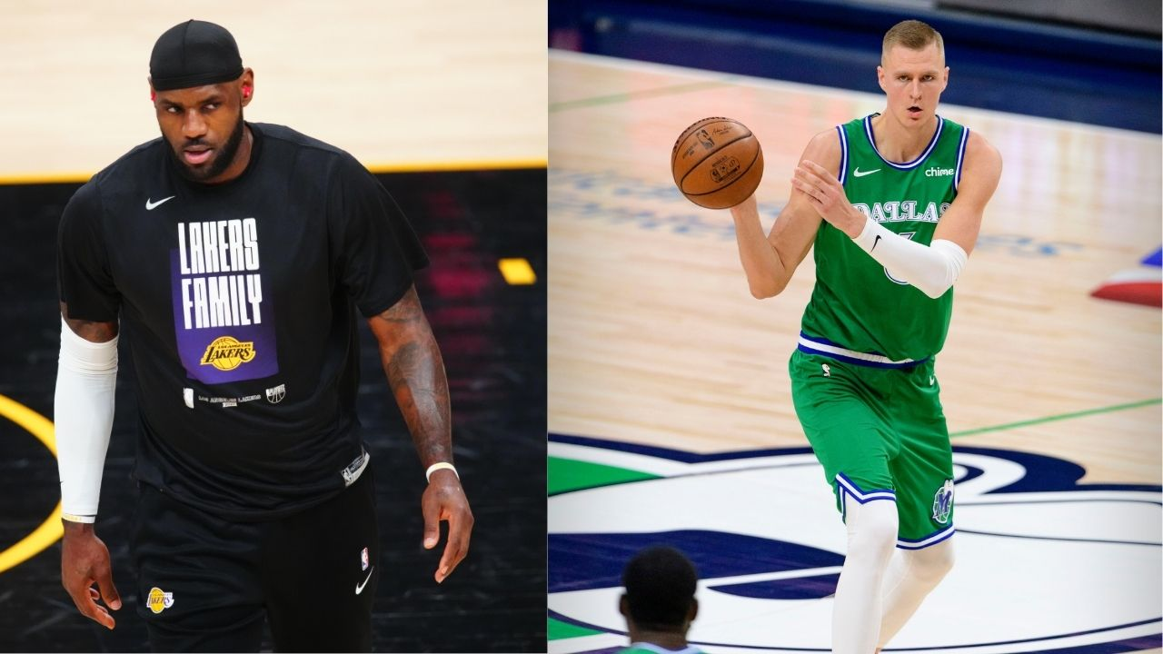 """""""What are these double standards?"""": Difference in punishments for Kristaps Porzingis and LeBron James makes fans and the players question the NBA"""