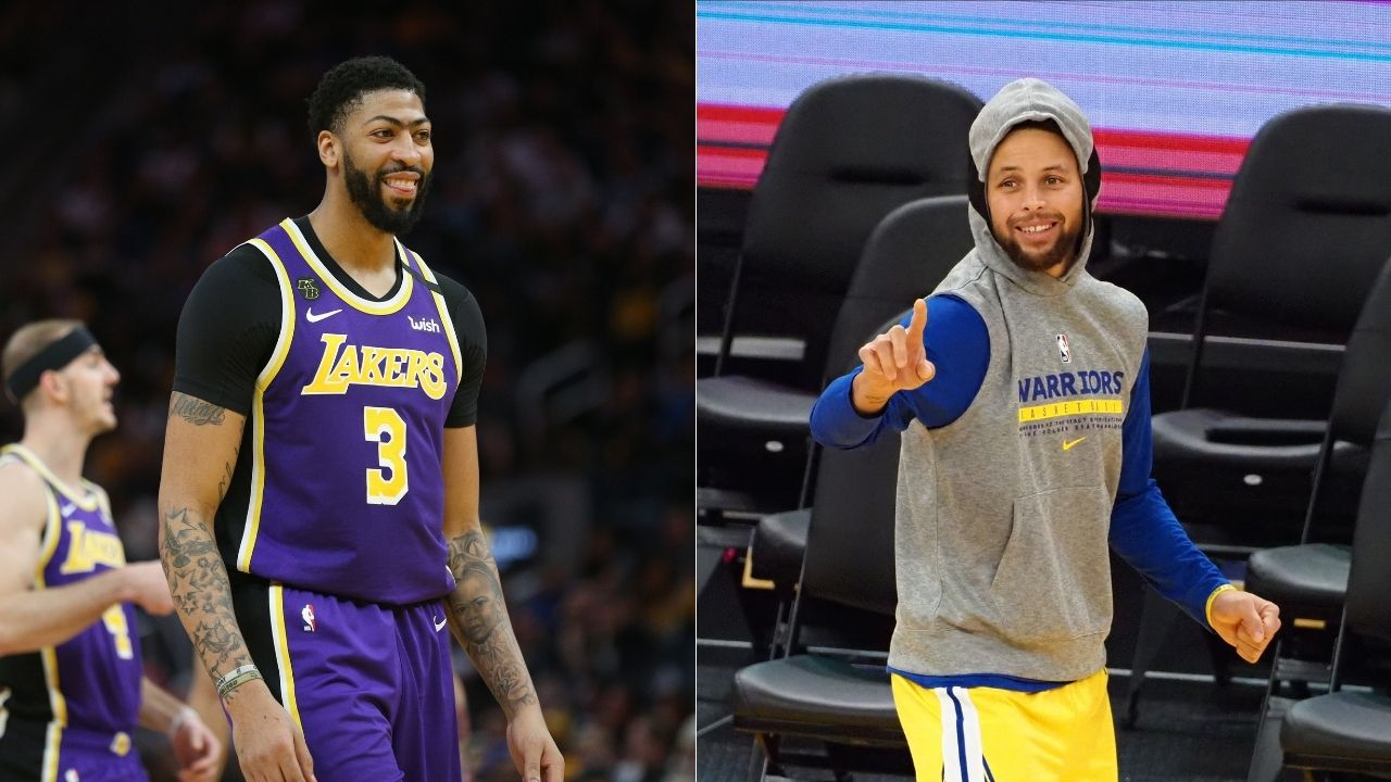 """""""Anthony Davis shoots Steph Curry in GTA roleplay"""": Lakers star spotted shooting a lookalike of the Warriors legend on viral video"""