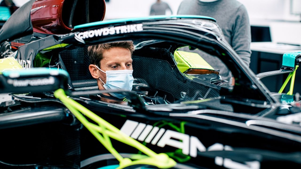 """""""I am so excited to jump back in an F1 car!"""" - Romain Grosjean to make Mercedes debut ahead of French Grand Prix"""