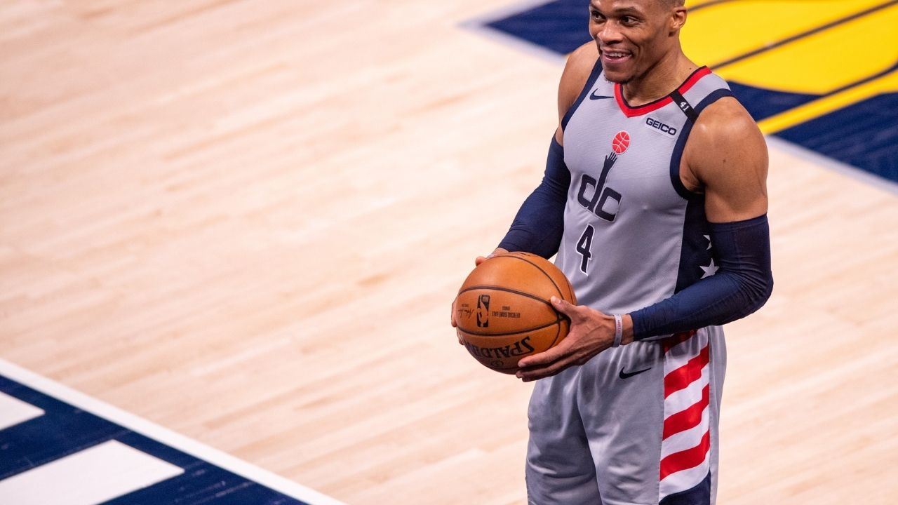 """""""We'll have to see in another 50 years"""": Russell Westbrook is confident that no one will break his triple double record for another half a century at the least"""