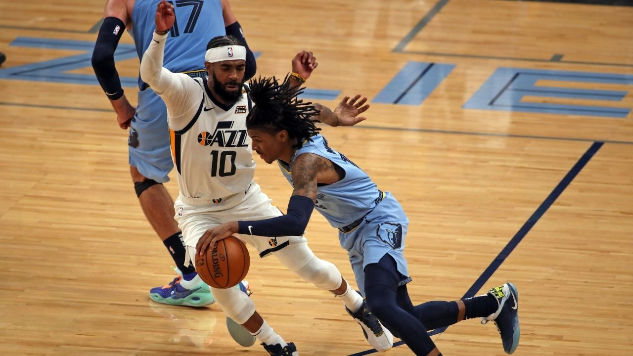 """""""You live long enough, you become the villain"""": Mike Conley hilariously quotes Alfred the Butler from the Dark Knight while praising Grizzlies star Ja Morant"""