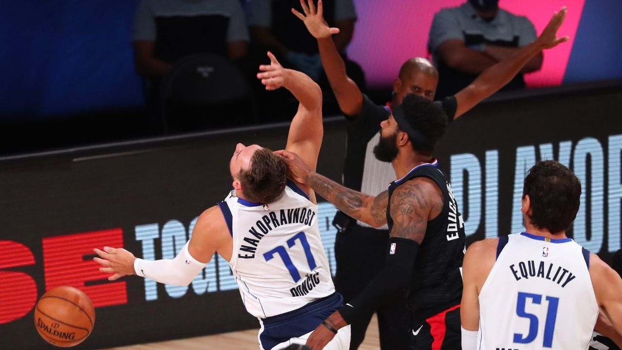 """""""Marcus Morris Sr is a hell of a defender"""": Luka Doncic lauds Clippers forward despite his antics against the Mavericks star during the 2020 NBA Bubble Playoffs"""