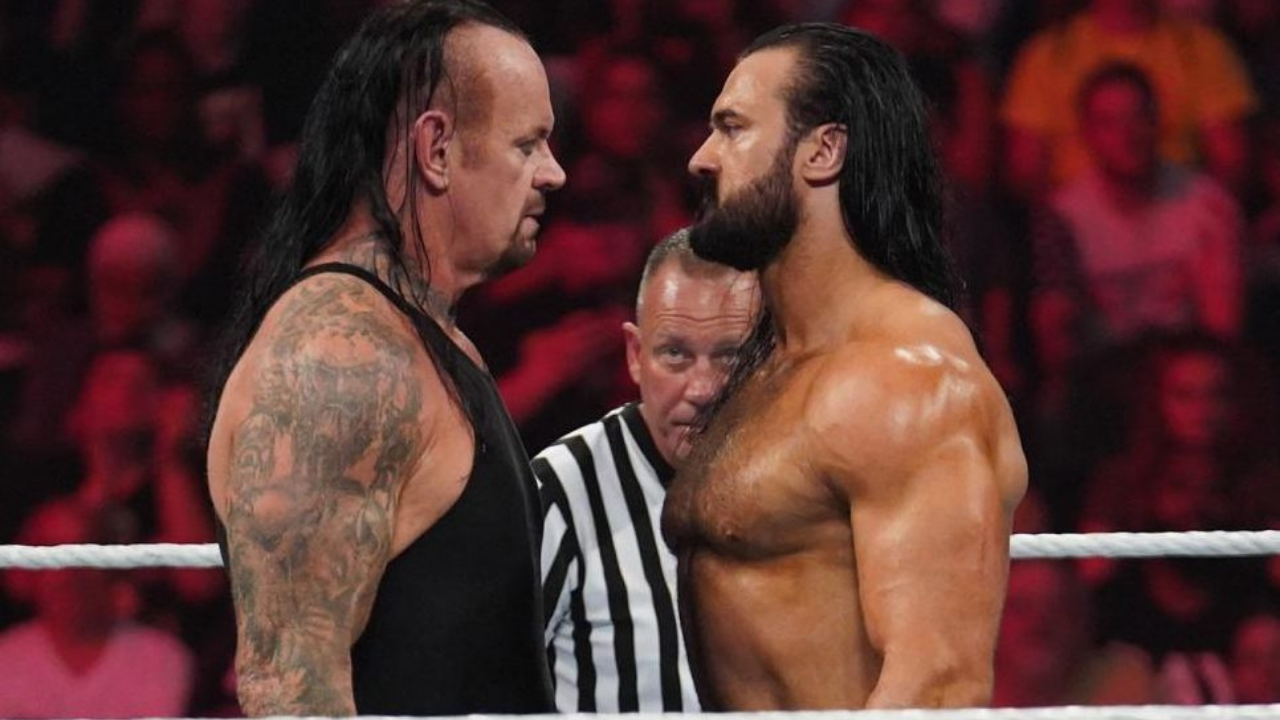 Drew McIntyre reveals he was considered to face The Undertaker at Wrestlemania 26