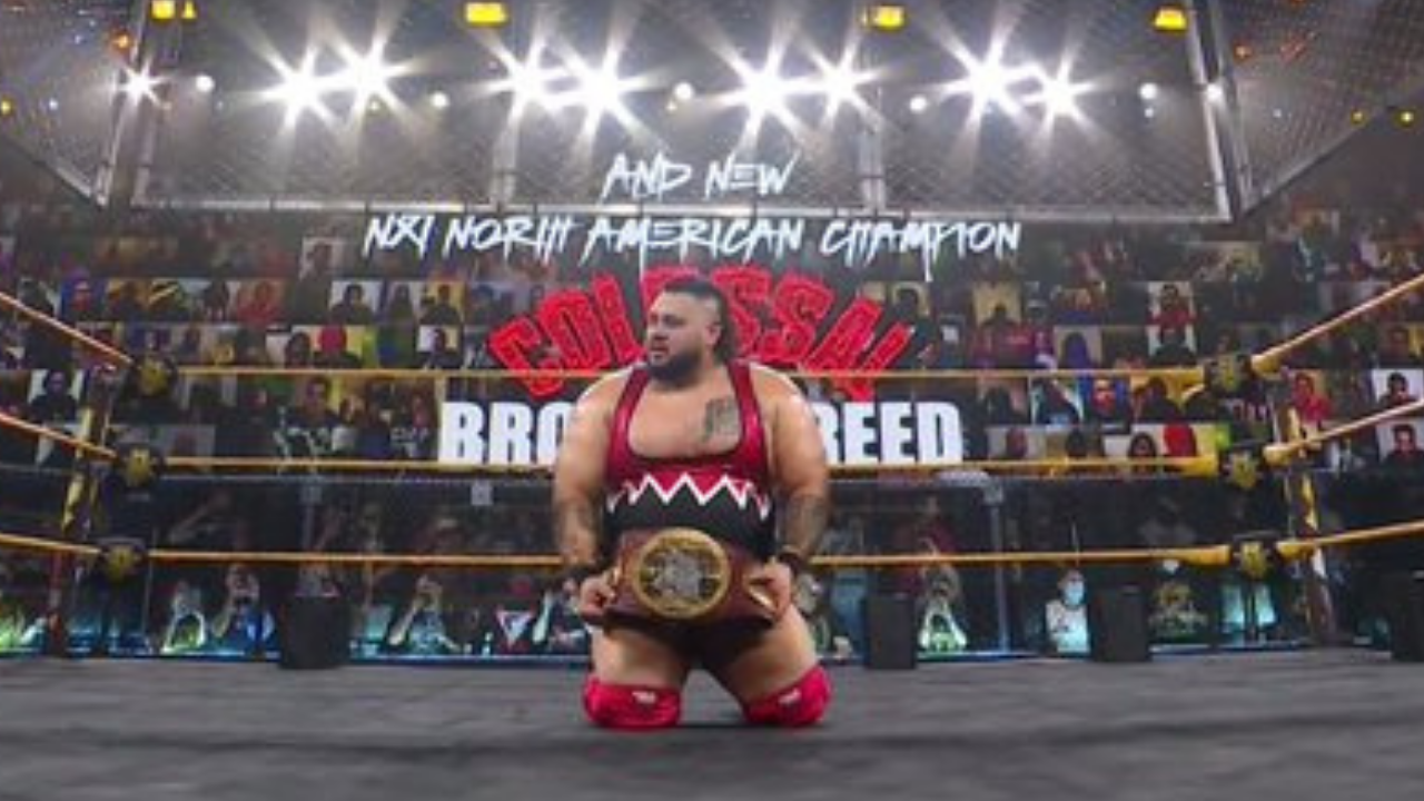 Bronson Reed beats Johnny Gargano to become new WWE NXT North American Title