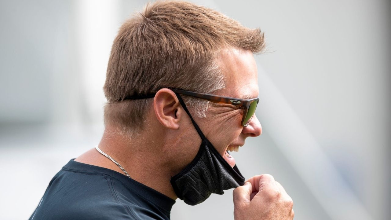 """""""We're working"""": Colts GM Chris Ballard had a blunt response to hilarious prank call by Lions executive John Dorsey."""