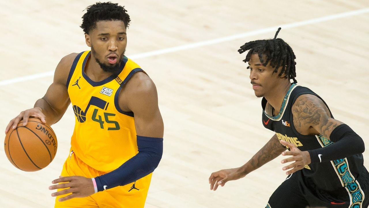 """""""This is ridiculous! Enough is enough..."""": Donovan Mitchell has a strong reaction to Jazz fans mouthing off Ja Morant and his family"""