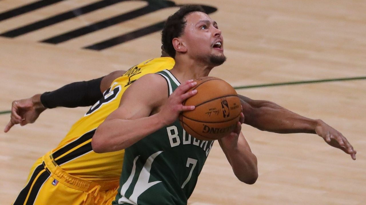 """""""Bryn Forbes destroyed Miami Heat"""": Former Spurs shooter leads Milwaukee Bucks to unassailable halftime lead over Jimmy Butler and co"""