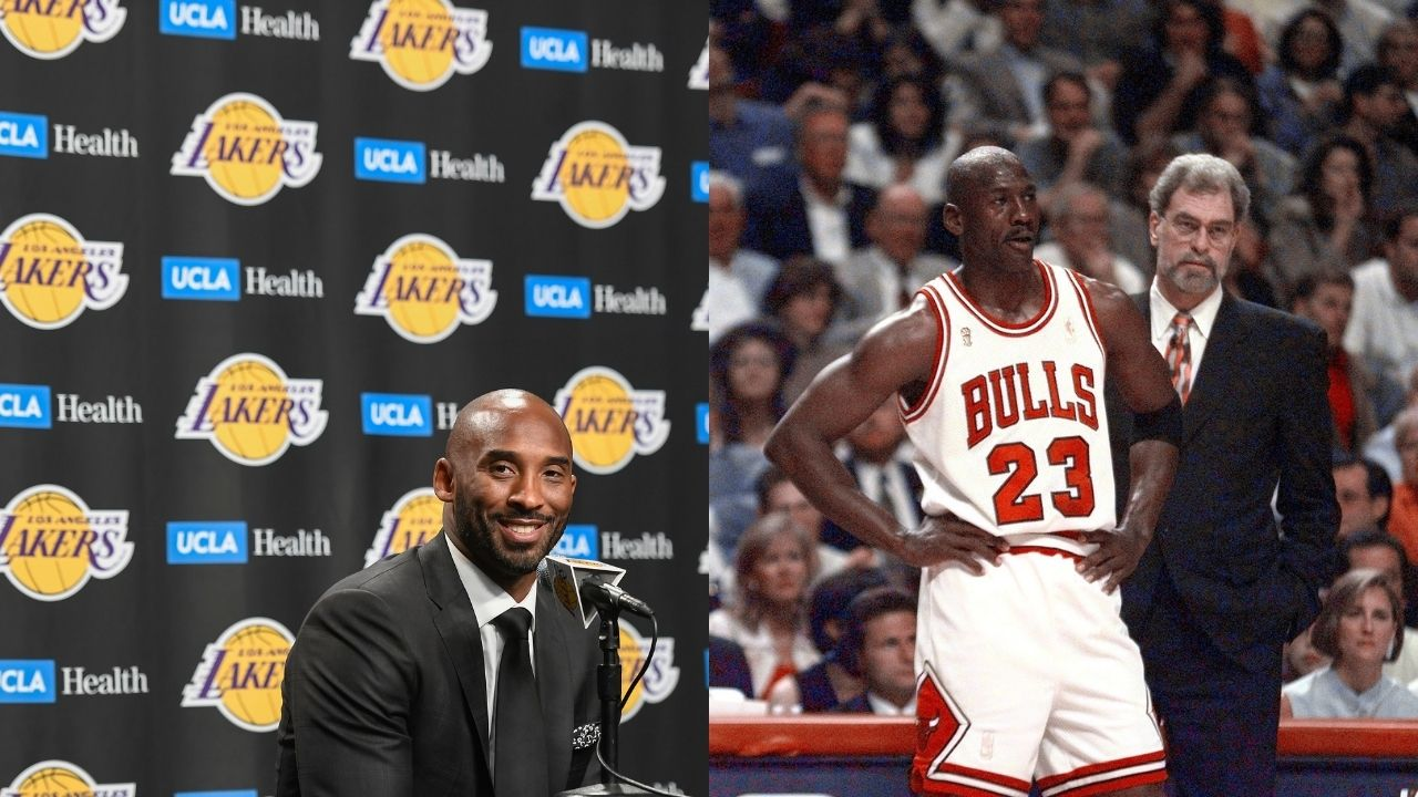 """""""I would kick your a**"""": Kobe Bryant hilariously chronicles Michael Jordan's competitiveness by claiming the 'GOAT' would pit his 1991 self against the Laker legend's prime self"""