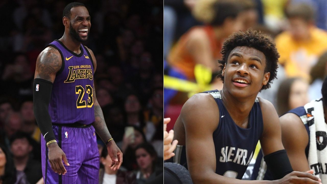 """""""Bronny about to pull LeBron James into FaZe Clan"""": NBA fans hilariously react to Lakers star's Twitter post seeking gaming chair recommendations"""