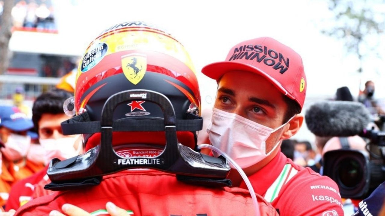 """""""I think that was a really great gesture""""– Ferrari praises Charles Leclerc presence in podium celebration"""