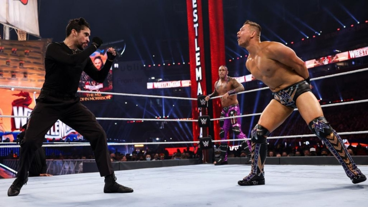 The Miz expected fans at Wrestlemania 37 to boo Bad Bunny
