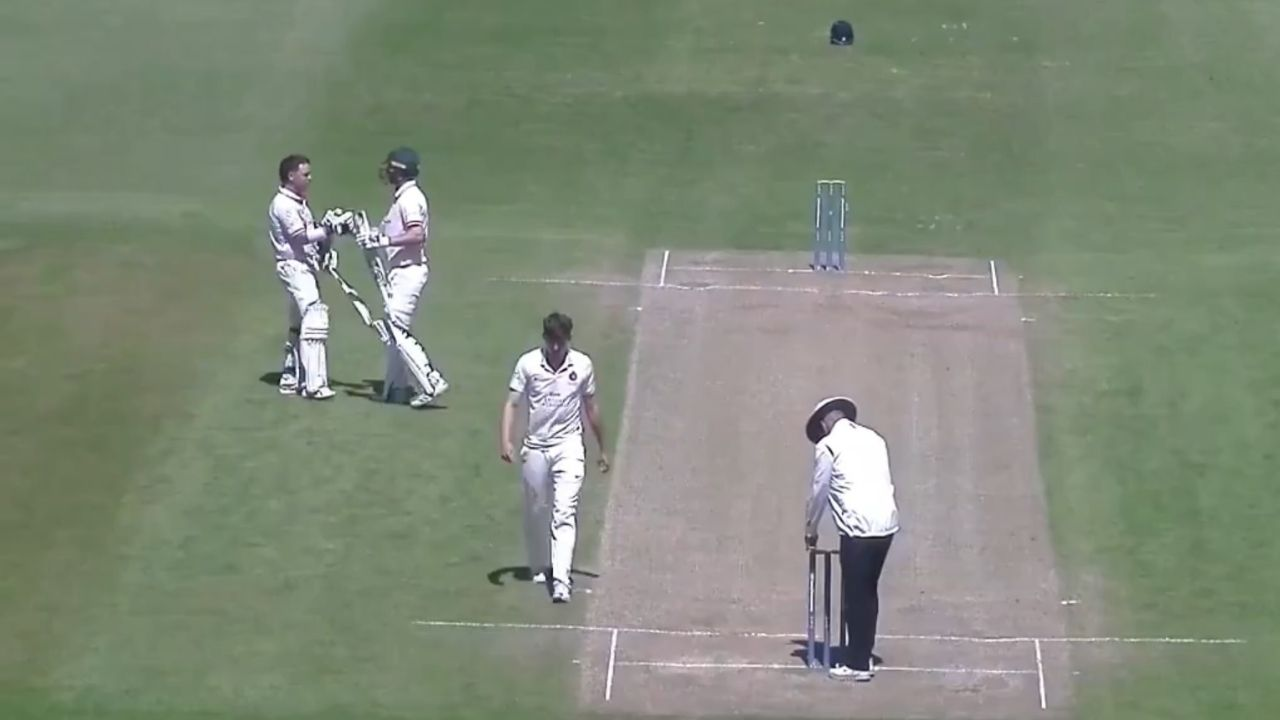 Marcus Harris century: Australian batsman scores 2nd century for Leicestershire in County Championship 2021