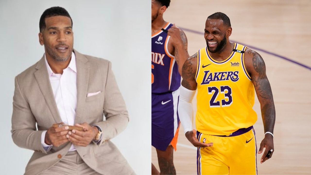 """""""LeBron James isn't as aggressive offensively as Michael Jordan or Kobe Bryant"""": NBA Analyst Jim Jackson doesn't believe the Lakers' star is on the same level as the other legends"""