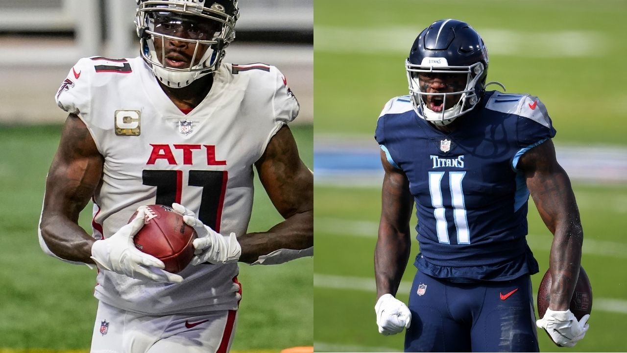 Julio Jones to Titans : A.J Brown posts public pitch to woo Julio Jones into coming to the Tennessee Titans.