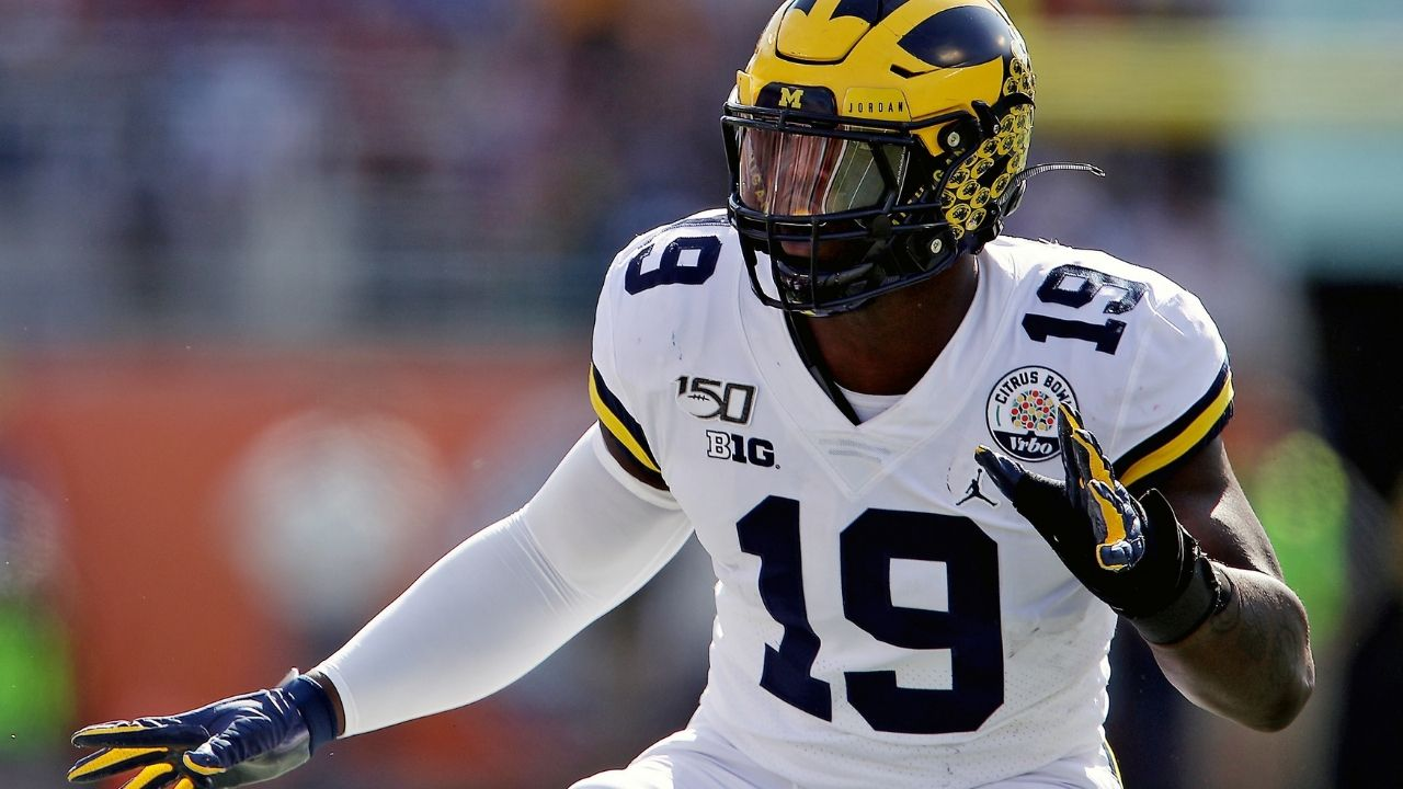 """""""Man, I have no school. I have nothing to do but focus on football"""": Colts rookie DE Kwity Paye excited to be an NFL professional."""