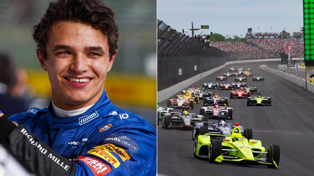"""""""I would love to do it at some point""""– Lando Norris on participating in Indy500"""