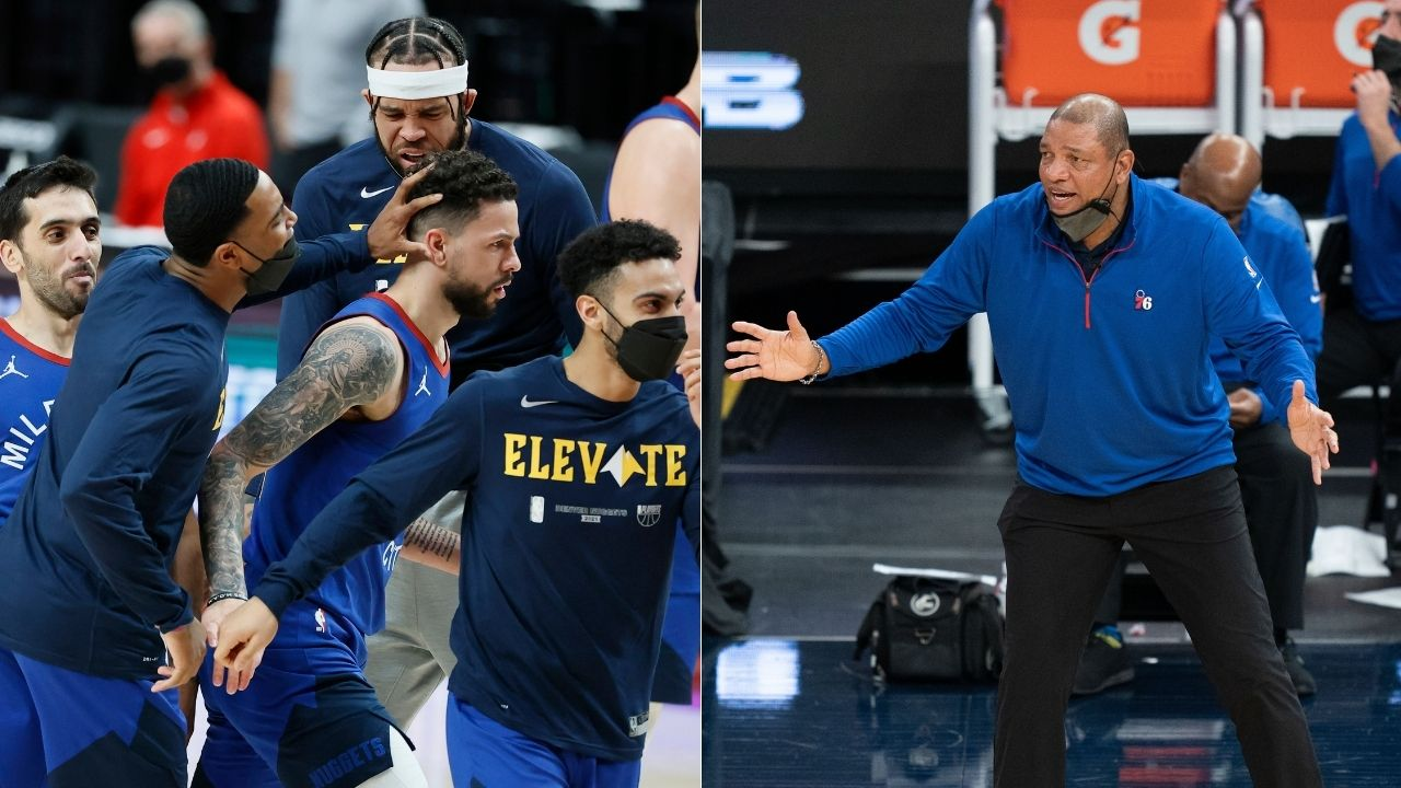 """""""Role players can play well on the road as we saw yesterday"""": Doc Rivers slyly praises his son Austin Rivers ahead of Sixers vs Wizards Game 3"""
