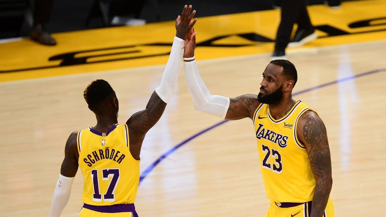 """""""Dennis Schroder demands $100-120M in free agency"""": The Lakers guard has controversially set the price high to remain alongside LeBron James and Anthony Davis"""
