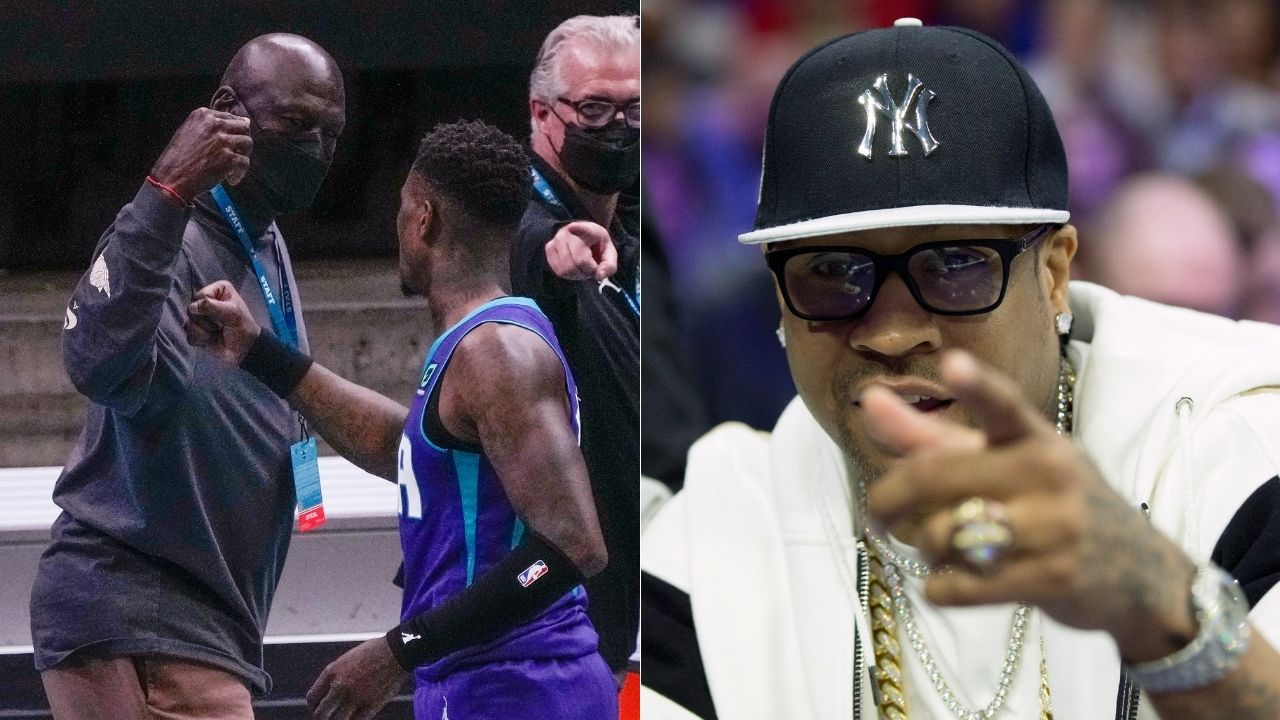 """Allen Iverson had the best moment"": Kendrick Perkins places Sixers legend's 'Practice' rant above Michael Jordan's buzzer beater against Cleveland Cavaliers"