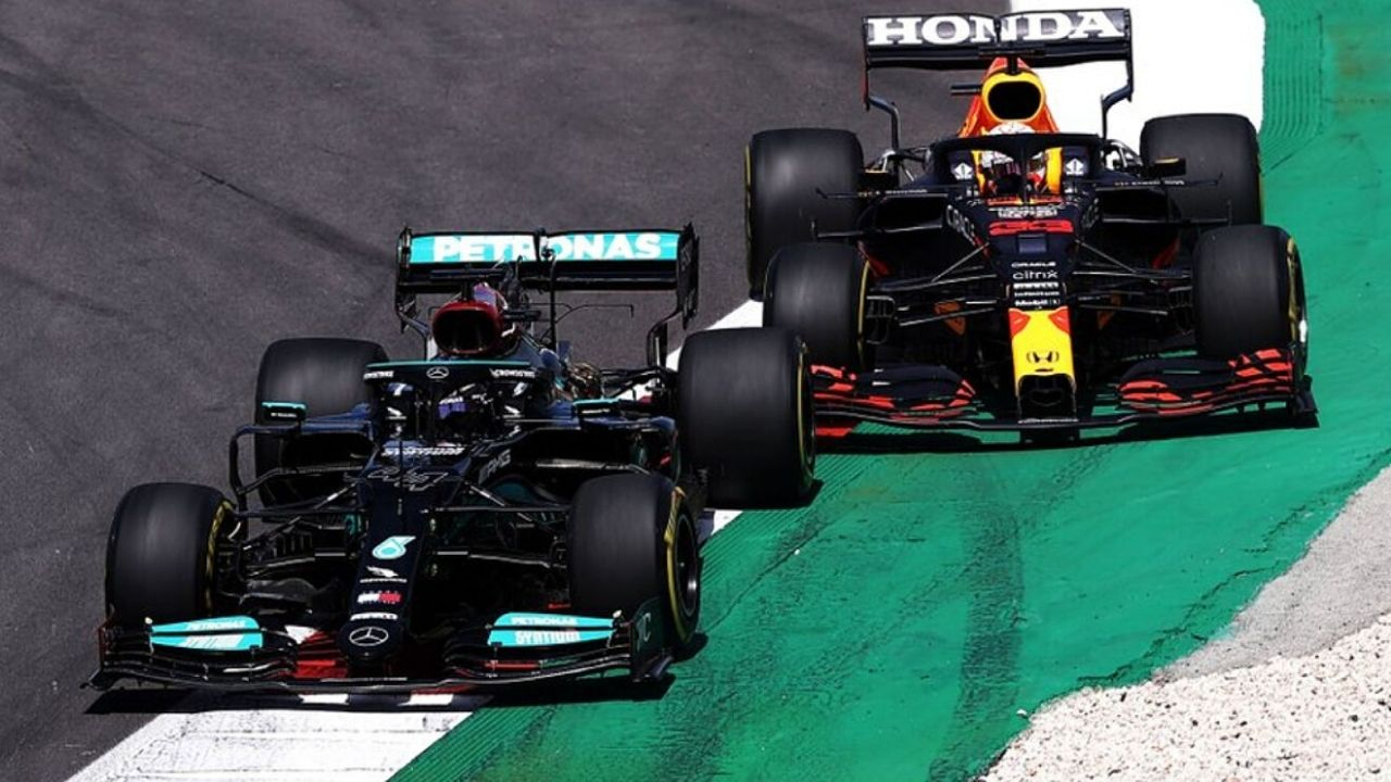"""""""If I hadn't, he would have just driven off""""– Max Verstappen on his overtake on Lewis Hamilton in Spain"""