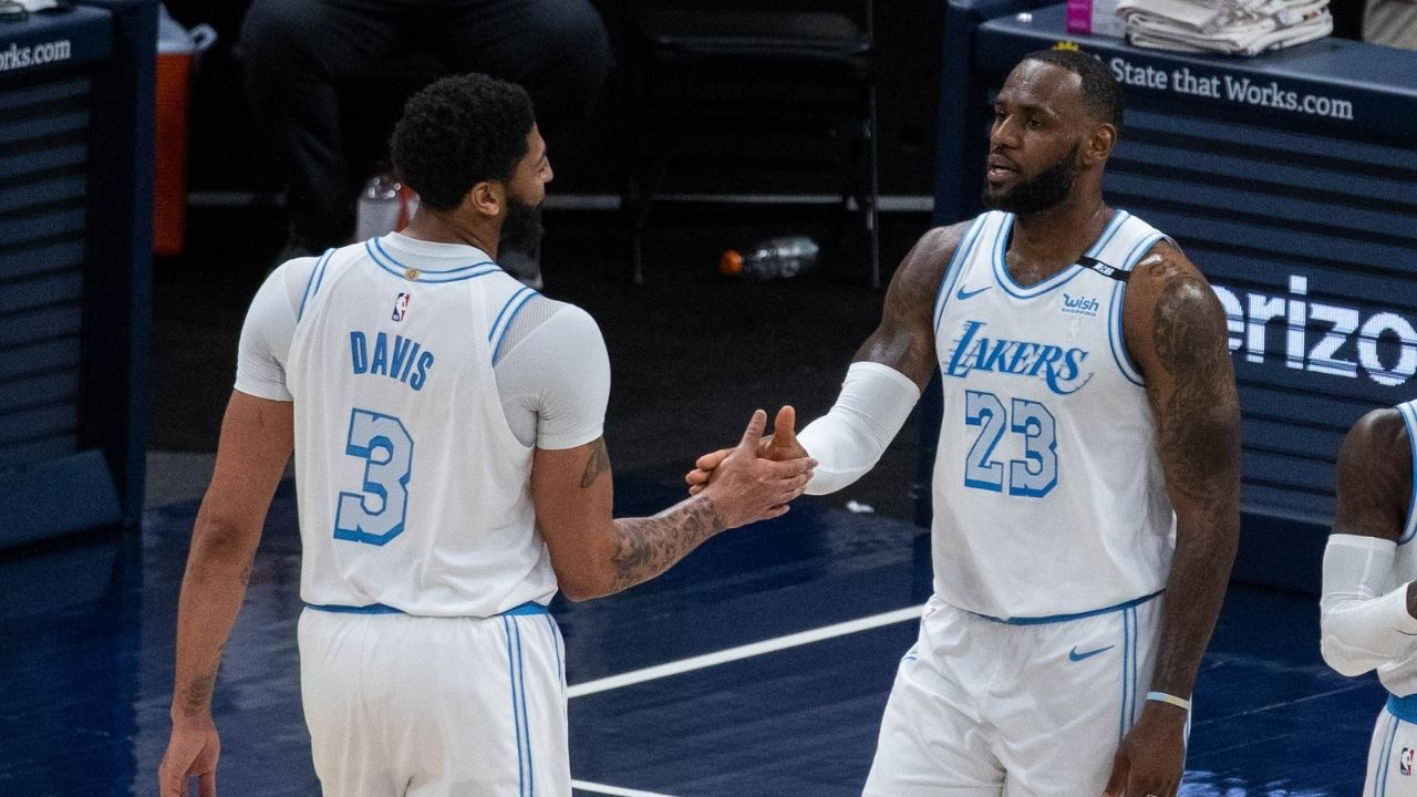 """""""With LeBron James back, teams have been ducking us"""": Jared Dudley hypes up how Lakers strike fear through playoff opponents' hearts ahead of play in game"""