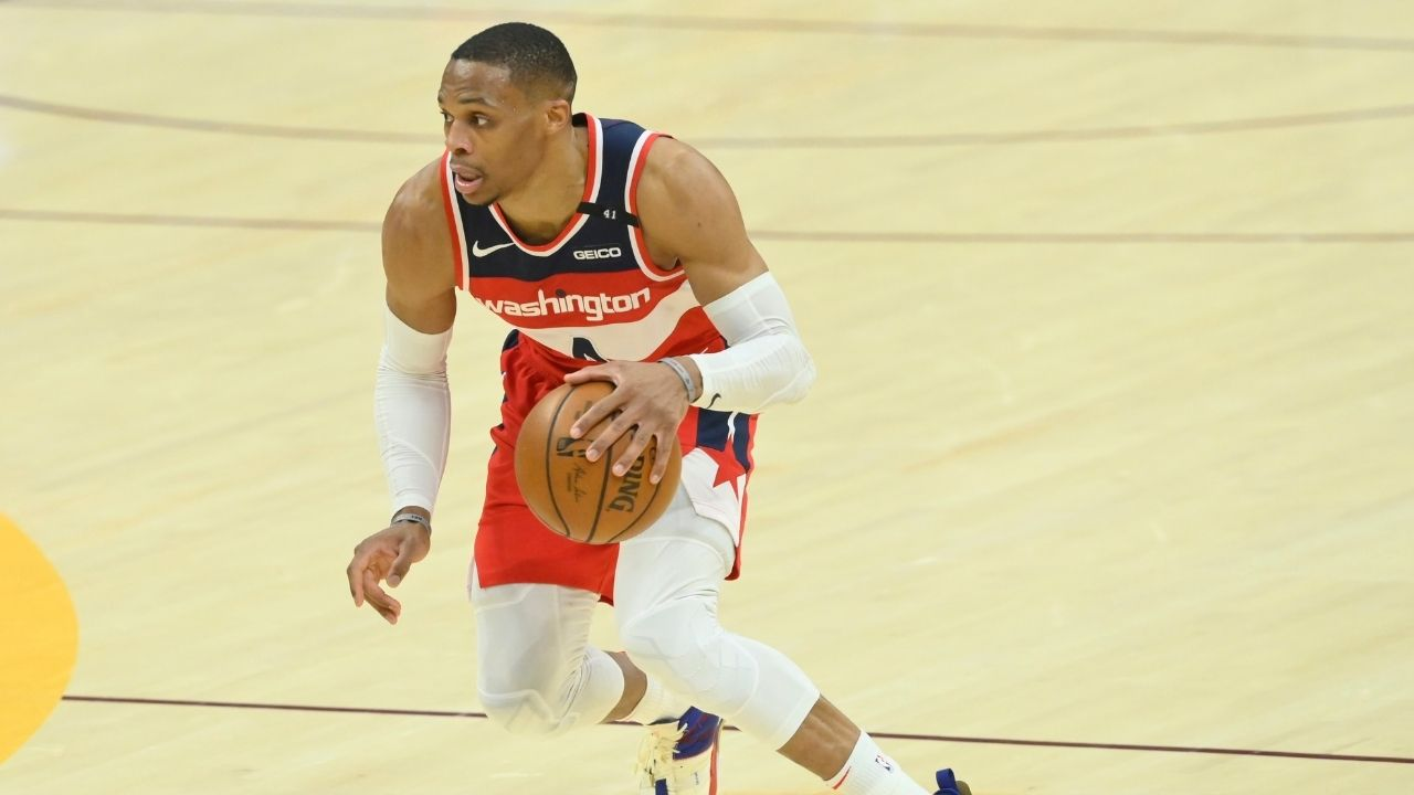 """""""Russell Westbrook should be on this damn list"""": Kendrick Perkins blasts Stephen A Smith for excluding the Wizards star from his top 5 point guards"""