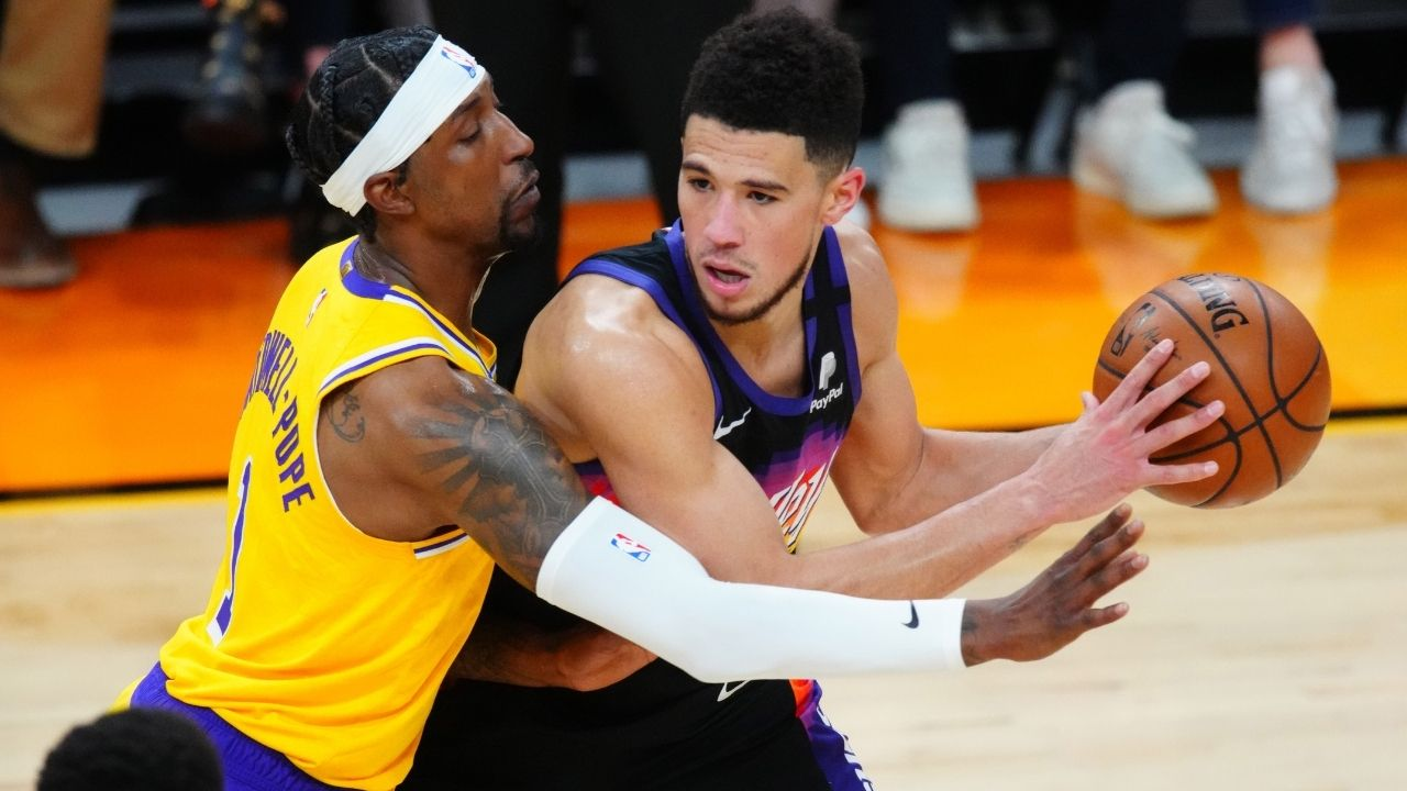Kentavious Caldwell-Pope injury news: Lakers guard ruled out of Game 3 return with a quad contusion as LeBron James dominates Phoenix Suns
