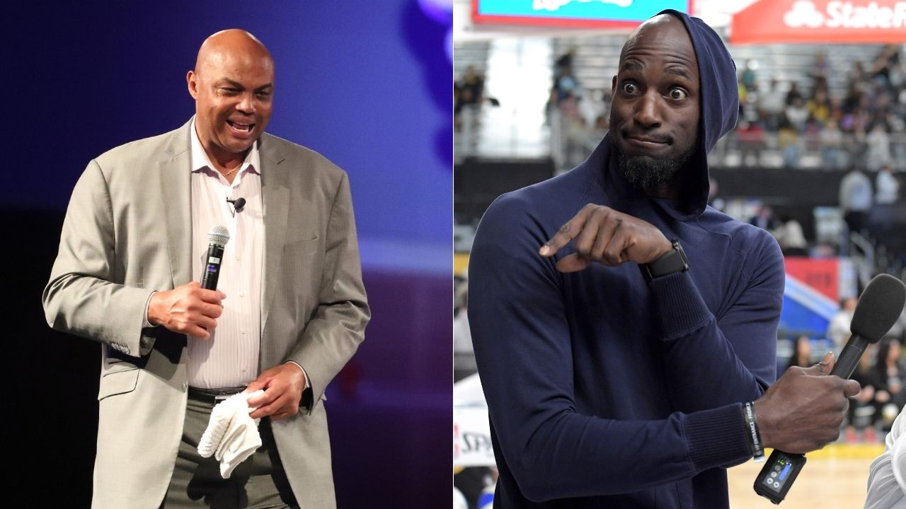"""""""Charles Barkley, you're almost a champion"""": When Kevin Garnett used Shaq's 'Rings, Ernie' against the NBA legend after getting roasted"""